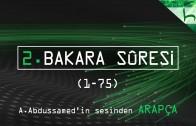 2 – Bakara Sûresi (001-075) – Kur'ân-ı Kerîm Çözümü (arapça) – Ahmed Hulusi