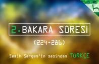 2 – Bakara Sûresi (224-286) – Kur'ân-ı Kerîm Çözümü – Ahmed Hulusi