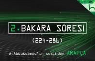 2 – Bakara Sûresi (224-286) – Kur'ân-ı Kerîm Çözümü (arapça) – Ahmed Hulusi