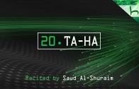 20. Ta-Ha – Decoding The Quran – Ahmed Hulusi