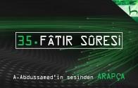 35 – Fâtir Sûresi – Kur'ân-ı Kerîm Çözümü (arapça) – Ahmed Hulusi
