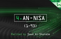4. An-Nisa (1-93) – Decoding The Quran – Ahmed Hulusi