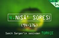 4 – Nisâ' Sûresi (094-176) – Kur'ân-ı Kerîm Çözümü – Ahmed Hulusi
