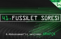 41 – Fussilet Sûresi – Kur'ân-ı Kerîm Çözümü (arapça) – Ahmed Hulusi