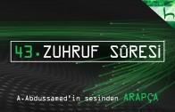 43 – Zuhruf Sûresi – Kur'ân-ı Kerîm Çözümü (arapça) – Ahmed Hulusi