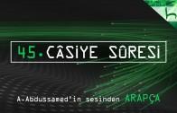 45 – Câsiye Sûresi – Kur'ân-ı Kerîm Çözümü (arapça) – Ahmed Hulusi