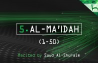 5. Al-Ma'idah (1-50) – Decoding The Quran – Ahmed Hulusi