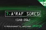 7 – A'raf Sûresi (148-206) – Kur'ân-ı Kerîm Çözümü (arapça) – Ahmed Hulusi