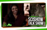SciShow Talk Show: Crash Course Physics Host Dr. Shini Somara & Sydney the Brush-Tailed Bettong
