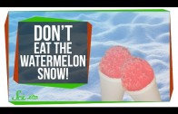 Don't Eat the Watermelon Snow!