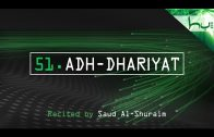 51. Adh-Dhariyat – Decoding The Quran – Ahmed Hulusi
