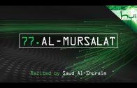 77. Al-Mursalat – Decoding The Quran – Ahmed Hulusi