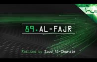 89. Al-Fajr – Decoding The Quran – Ahmed Hulusi
