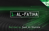 1 – Al-Fatiha – Decoding The Quran (arabic) – Ahmed Hulusi