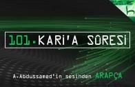 101 – Kari'a Sûresi – Kur'ân-ı Kerîm Çözümü (arapça) – Ahmed Hulusi