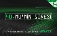 40 – Mu'min Sûresi – Kur'ân-ı Kerîm Çözümü (arapça) – Ahmed Hulusi