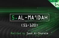 5. Al-Ma'idah (51-120) – Decoding The Quran – Ahmed Hulusi