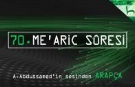 70 – Me'aric Sûresi – Kur'ân-ı Kerîm Çözümü (arapça) – Ahmed Hulusi