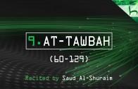 9. At-Tawbah (60-129) – Decoding The Quran – Ahmed Hulusi