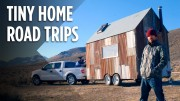 A Snowboarder's Unbelievable Tiny House