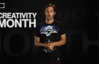 Creativity Month on Shots of Awe!