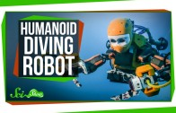 The Amazing Humanoid Diving Robot