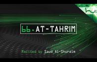 66. At-Tahrim – Decoding The Quran – Ahmed Hulusi