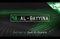 98. Al-Bayyina – Decoding The Quran – Ahmed Hulusi